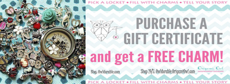 FREE Charm W Gift Certificate Purchase!